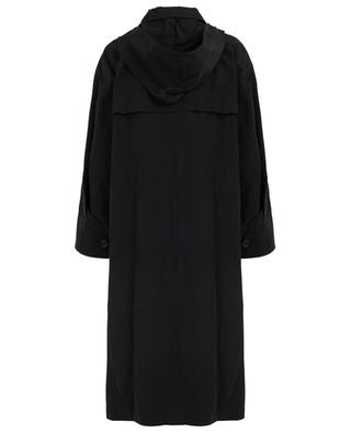 Hooded oversize rain coat BARBARA BUI