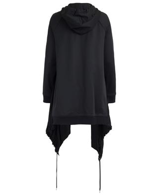 Asymmetrisches Oversize-Sweatshirt im Materialmix BARBARA BUI