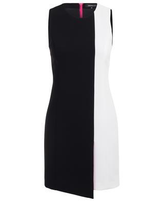 Asymmetrisches ärmelloses Kleid aus Krepp BARBARA BUI