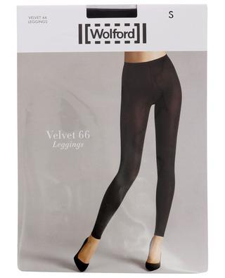 Blickdichte Leggings Velvet 66 WOLFORD