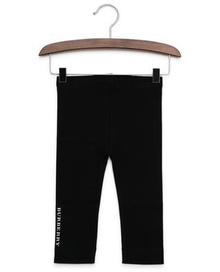Logo print leggings BURBERRY