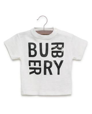 Mini Furgus slub cotton T-shirt BURBERRY