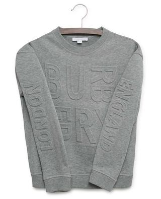 Sweatshirt mit Logo Hank BURBERRY