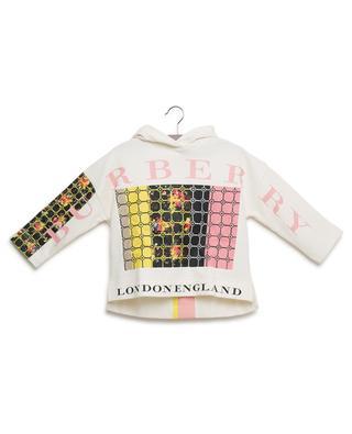 Flower Hoodie printed sweatshirt BURBERRY