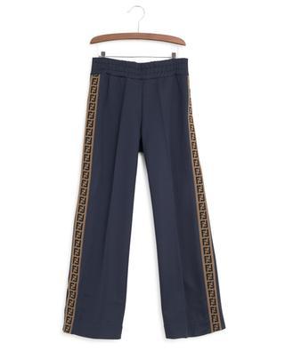 FF jogging trousers with press studs FENDI