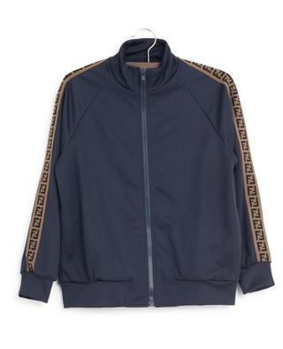 FF technical fabric sweat jacket FENDI