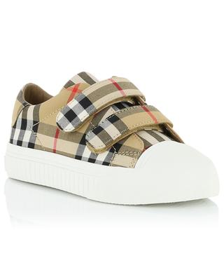 Belside Vintage Check fabric sneakers BURBERRY
