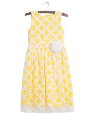 Ida embroidered tulle sleeveless dress CHARABIA