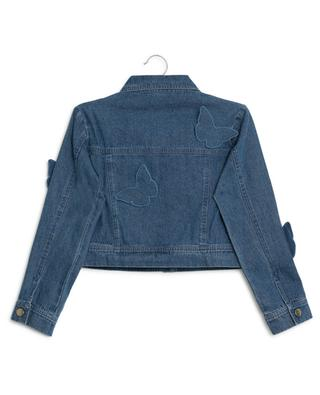 Nelly denim jacket with butterflies CHARABIA