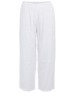 Hose aus texturierter Baumwolle Nicolette SKIN