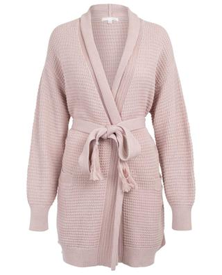 Fiona knit bath robe SKIN