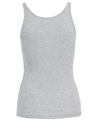 Raisa ribbed cotton tank top SKIN