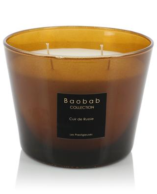 Cuir de Russie Max 10 scented candle BAOBAB