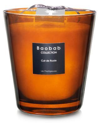 Bougie parfumée Cuir de Russie Max 16 BAOBAB