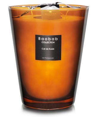 Les Prestigieuses Cuir de Russie Max 24 scented candle BAOBAB