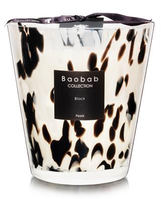 Pearls Black Max 16 scented candle BAOBAB