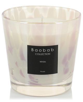 Duftkerze Pearls White Max One BAOBAB