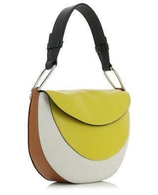 Rosetta tricolour leather saddle bag GIANNI CHIARINI