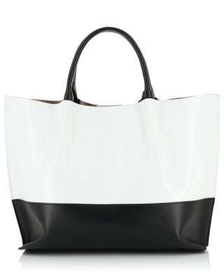 Twenty Medium bi-colour leather tote bag GIANNI CHIARINI