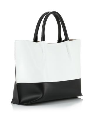 Twenty Medium bi-colour leather tote bag GIANNI CHIARINI