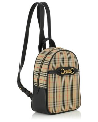 The 1983 Check cotton printed backpack BURBERRY