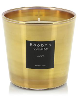 Aurum Max One scented candle BAOBAB