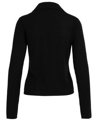 Fine V-neck jumper with lacing SAINT LAURENT PARIS