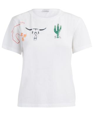 T-shirt en coton Arizona SAINT LAURENT PARIS