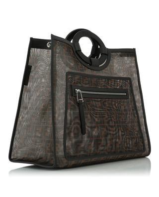Shopping-Tasche aus Netzstoff mit Logo Runaway Large FENDI