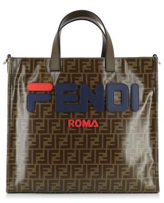 Coated canvas shopping bag FENDI