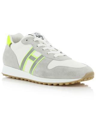 Sneakers aus Stoff und Wildleder H429 HOGAN