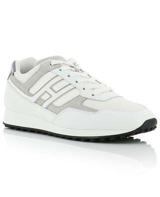 Sneakers aus Leder und Stoff H429 HOGAN