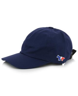 Baseballkappe mit Fuchs-Aufnäher 6P MAISON KITSUNE