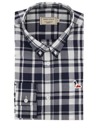 BD large check shirt MAISON KITSUNE