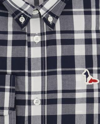 Hemd mit grossen Karos BD MAISON KITSUNE