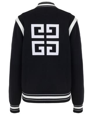Bomber tricot logo 4G GIVENCHY