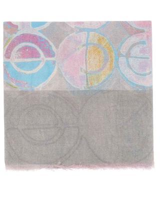 Schal aus Kaschmir und Seide mit graphischen Mustern George 19 ANDREA'S 47