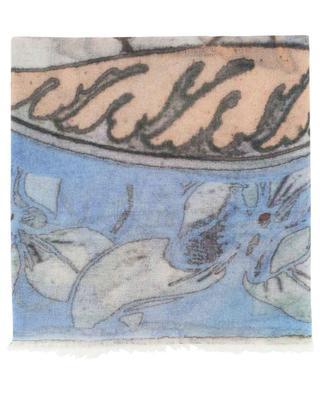 Geblümter Schal aus Sommer-Kaschmir Belle 19 ANDREA'S 47