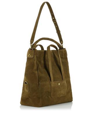 Gaspard large sanded leather bag JEROME DREYFUSS