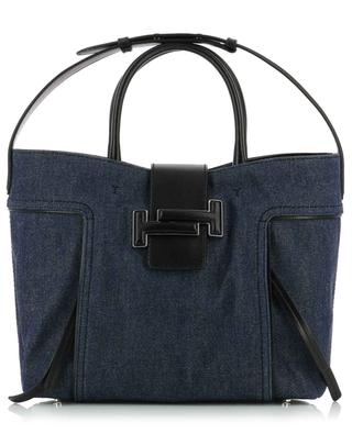 Sac cabas en jean Double T Medium TOD'S