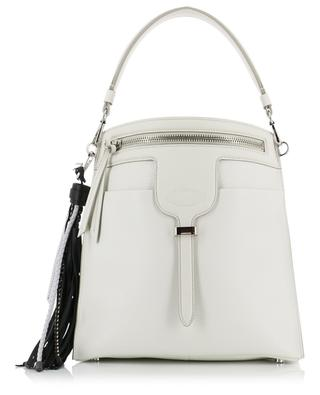Thea Small textured leather bag TOD'S