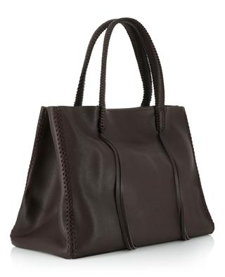 Iconic Tote grained leather bag CALLISTA