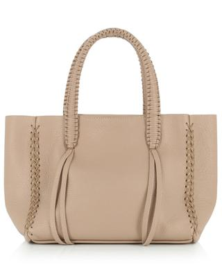 Iconic Mini Tote grained leather bag CALLISTA