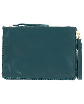 Maxi Pochette leather clutch CALLISTA
