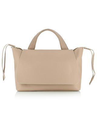 Lotus Dusk grained leather bag CALLISTA