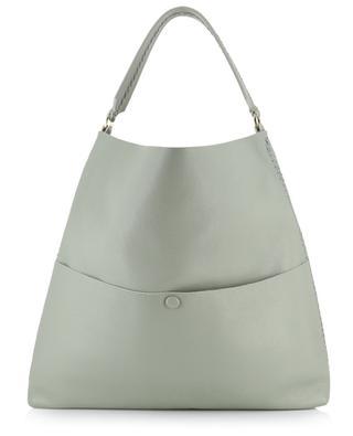 Iconic Slim grained leather tote bag CALLISTA