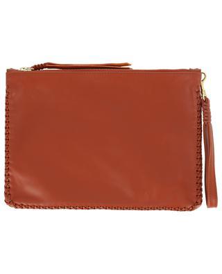 Pitaya Loop Maxi leather pochette CALLISTA
