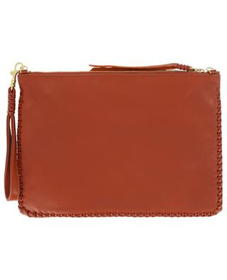Pitaya Loop Maxi leather pochette CALLISTA