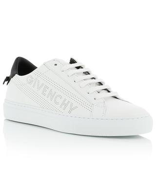 Urban Street perforated logo leather sneakers GIVENCHY
