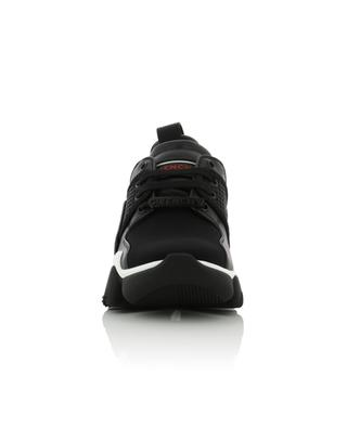 Niedrige Materialmix-Sneakers Jaw GIVENCHY